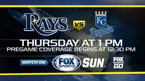 Royals take series finale from the Rays