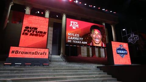 Cleveland Browns: Myles Garrett, DE, Texas A&M