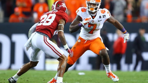 5. Titans (from Rams): Mike Williams, WR, Clemson