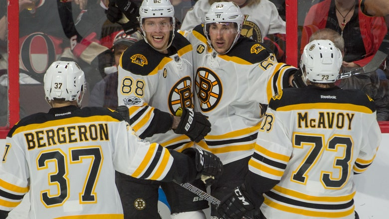 Boston Bruins' Sean Kuraly Rescues Season With Second Overtime Goal
