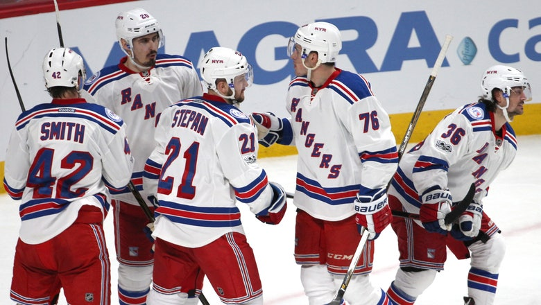 Rangers Mats Zuccarello Excels Two Years After Possible Career Ender