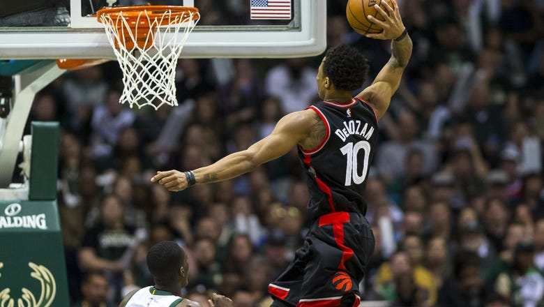 2017 NBA Playoffs Roundup, Day 13: DeRozan Dominates, Bye Bye Bucks And Spurs Get A TP TBT