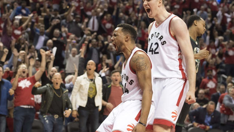 2017 NBA Playoffs Roundup, Day 10: Routine Warriors Dominance, Raptors Got The Powell And Happy Trails, Trail Blazers