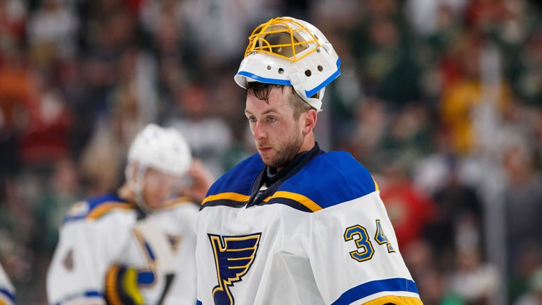 Jake Allen is a Man on a Mission for the St. Louis Blues