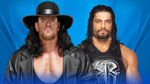 Roman Reigns vs. The Undertaker