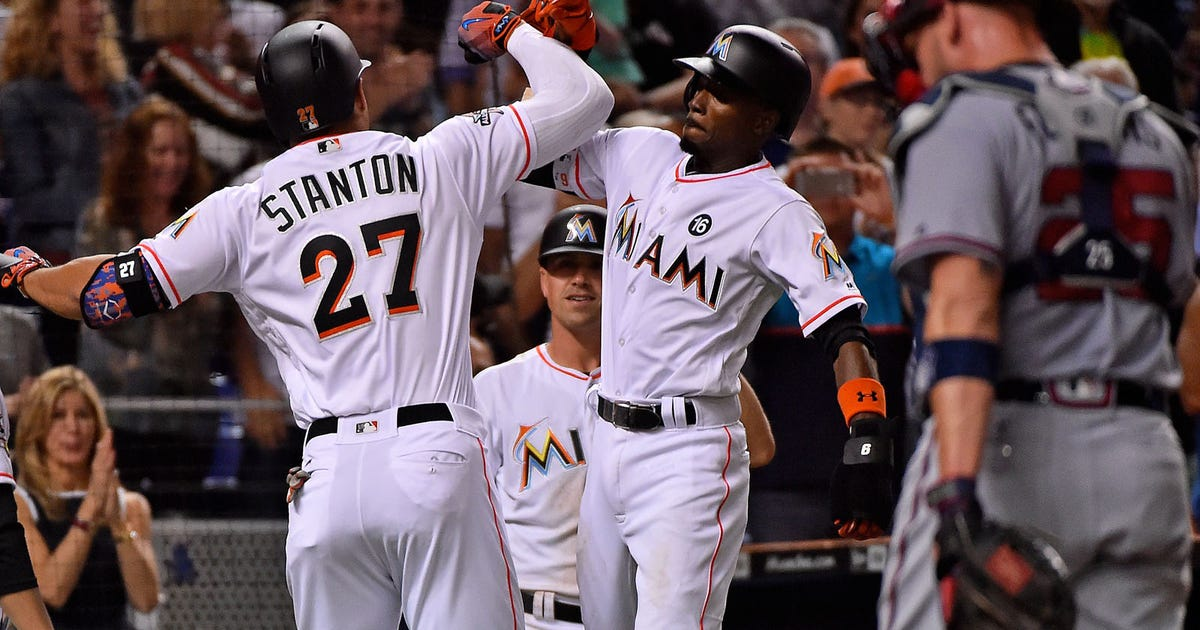 rooz Marlins fall 5-4 after Braves rally in 8th inning image