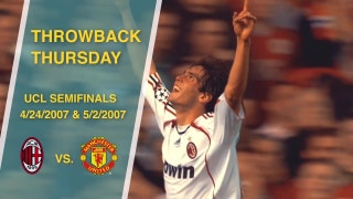 Throwback Thursday: AC Milan vs. Manchester United, 2006 - 2007 Champions League