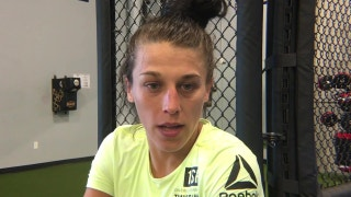 Joanna Jedrzejczyk on the art of the staredown