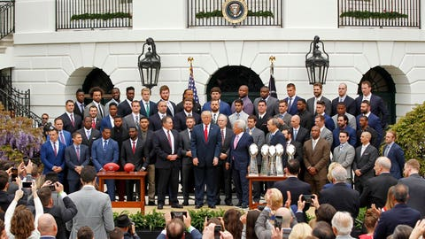 I expected more black players to skip the ceremony