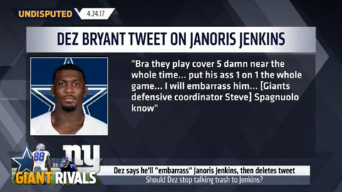 Dez Bryant to Janoris Jenkins: I will embarrass him