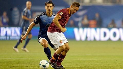 2013 — MLS All-Stars vs. Roma