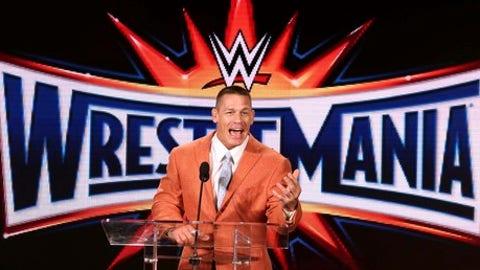 John Cena and Nikki Bella get engaged following WrestleMania match