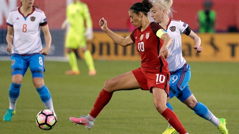 The USWNT needs to improve finishing chances