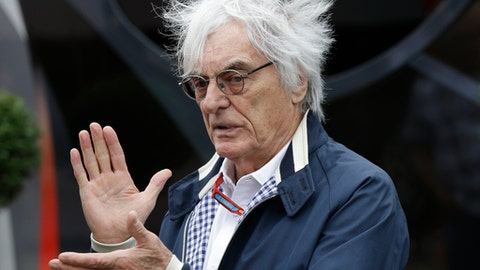 Ecclestone has a limited input as adviser to F1's new owners