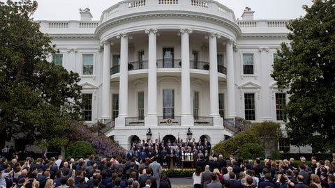 Patriots honored at White House