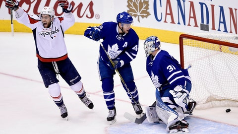 Maple Leafs' rookie trio just too much to handle for tired  Capitals