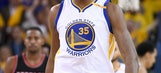 Kevin Durant still questionable for playoff Game 3 Saturday