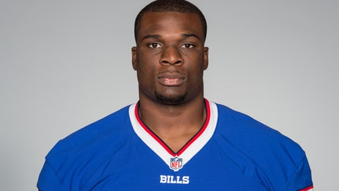 This is a 2016 photo of Cyrus Kouandjio of the Buffalo Bills NFL football team. This image reflects the Buffalo Bills active roster as of Monday, June 13, 2016 when this image was taken. (AP Photo)