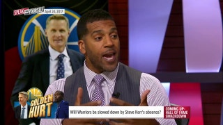Will Warriors be slowed down by Steve Kerr's absence? | SPEAK FOR YOURSELF