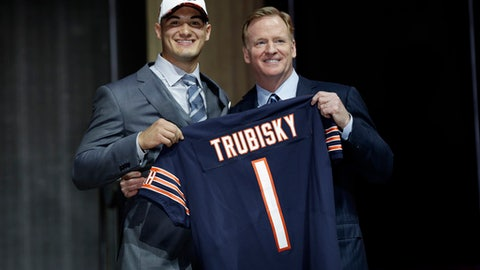 Chicago Bears Considering Trading Down from No. 3 Pick