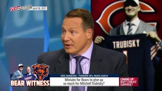 Bears trade up for Mitch Trubisky on draft day - was this a mistake? | SPEAK FOR YOURSELF
