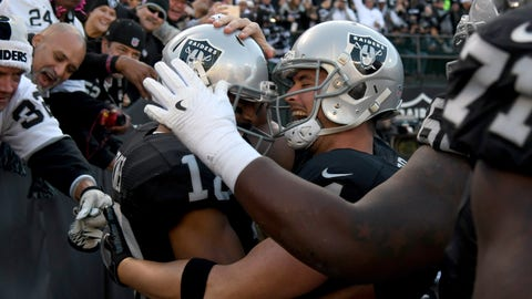 Oakland Raiders - 11:01