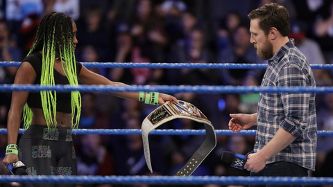Fox Sports: You became SmackDown Women's Champion, but an injury forced you to give up the title very close to WrestleMania. At that point, did you think you had lost your chance to perform at WrestleMania 33?