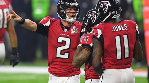 Atlanta Falcons - 11:34