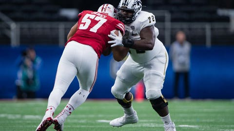 40. Panthers: Taylor Moton - OT - Western Michigan