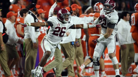 32. Saints (from Patriots): Marlon Humphrey - CB - Alabama