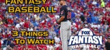 Buxton, Blisters & Bullpens: FOX Fantasy 3 Things To Watch