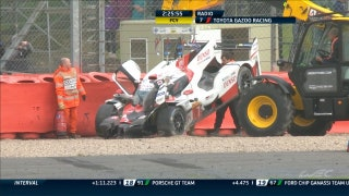 Heavy Wreck for Toyota No. 7 - 2017 6 Hours of Silverstone
