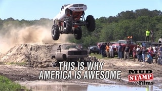 Mud Trucks Make America Awesome