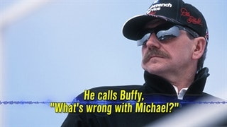 Dale Earnhardt Had Concerns About Michael Waltrip's Marathon Time