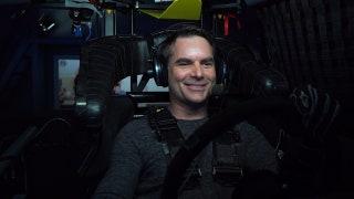 Jeff Gordon Tests Chevy Simulator | NASCAR RACE HUB