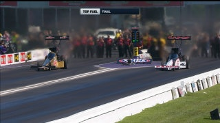Leah Pritchett Wins Top Fuel Final at Houston | 2017 NHRA DRAG RACING