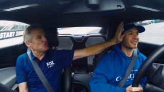 Riding Shotgun with Kyle Larson I NASCAR RACEDAY