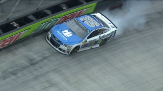 Dale Earnhardt Jr. Wrecks Out | 2017 BRISTOL | FOX NASCAR