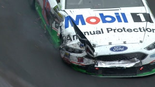 David Ragan and Danica Patrick Crash | 2017 BRISTOL | FOX NASCAR