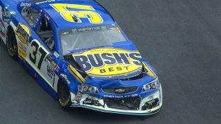 Chris Buescher and Kurt Busch Wreck Early   2017 BRISTOL   FOX NASCAR