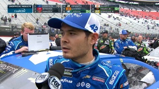 Speeding Penalty Halts Kyle Larson | 2017 BRISTOL | FOX NASCAR