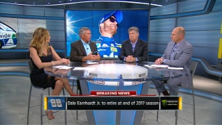 Reaction to Dale Earnhardt Jr.'s Retirement | NASCAR RACE HUB