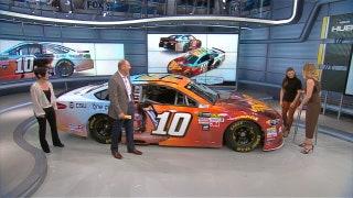 Danica Patrick Reveals Wonder WomanOne Cure Paint Scheme | NASCAR RACE HUB