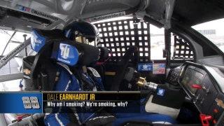 "Radioactive: Bristol - ""Why am I smoking?"" | NASCAR RACE HUB"