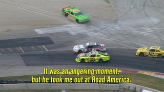 Danica Patrick Got Taken Out By a Racer She Looked Up To