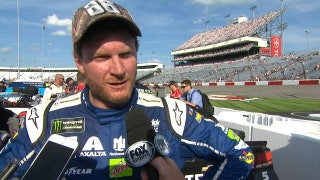 Dale Earnhardt Jr. Frustrated with Bad Luck | 2017 RICHMOND | FOX NASCAR