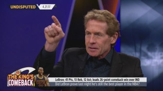 Skip Bayless reacts to LeBron's triple-double in Cavaliers' Game 3 win against Pacers | UNDISPUTED