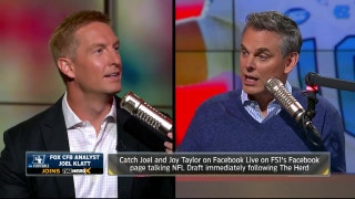 Joel Klatt on Jabrill Peppers, Deshaun Watson and more ahead of 2017 NFL Draft | THE HERD