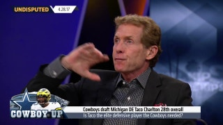 Skip Bayless reacts to Dallas Cowboys picking Taco Charlton in the NFL Draft | UNDISPUTED