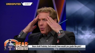 Bears' Mitchell Trubisky pick 'indefensibly idiotic move' says Skip Bayless | UNDISPUTED